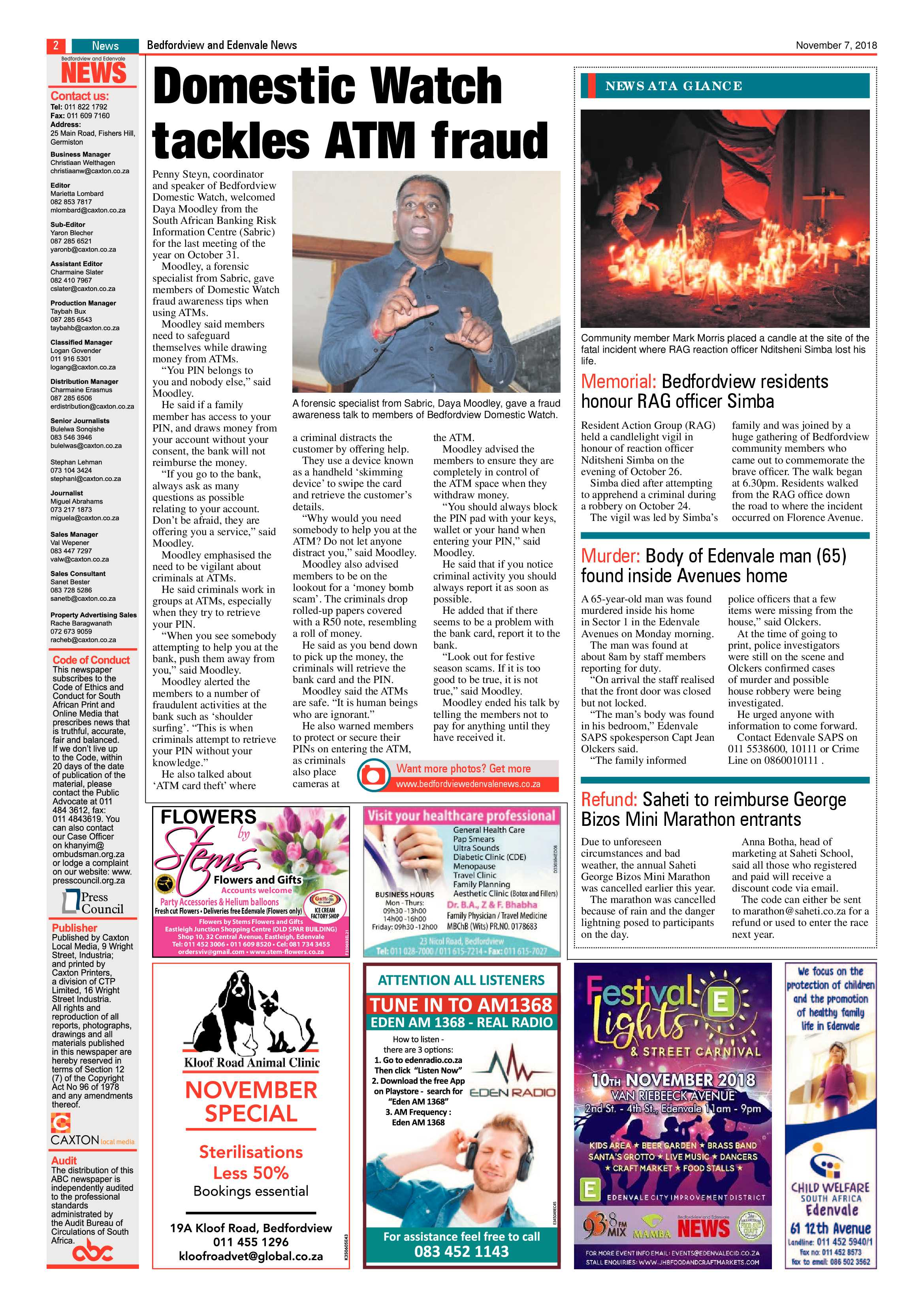 bedfordview-edenvale-news-07-november-2018-epapers-page-2