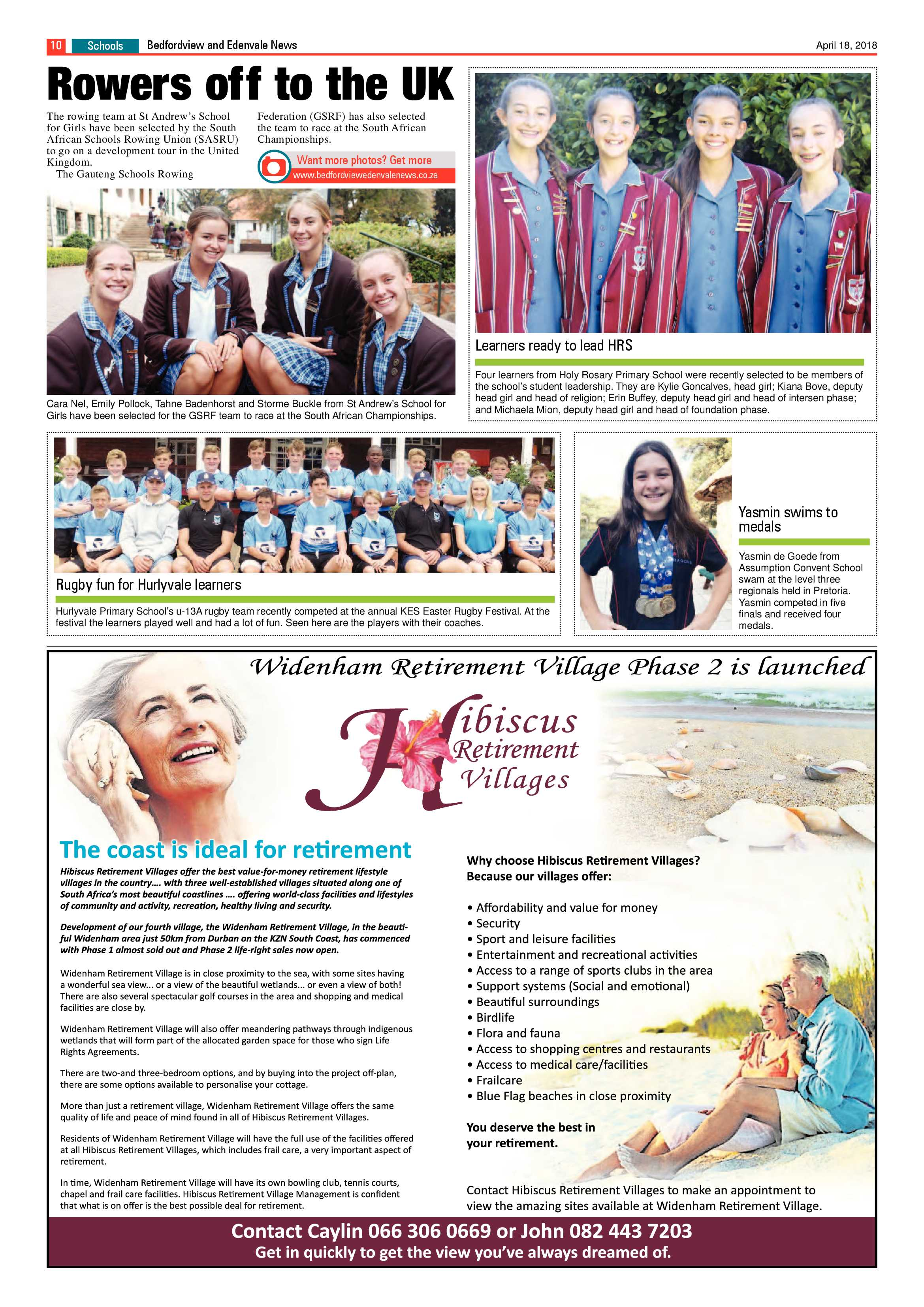 Bedfordview and Edenvale News 18 April 2018 | Bedfordview