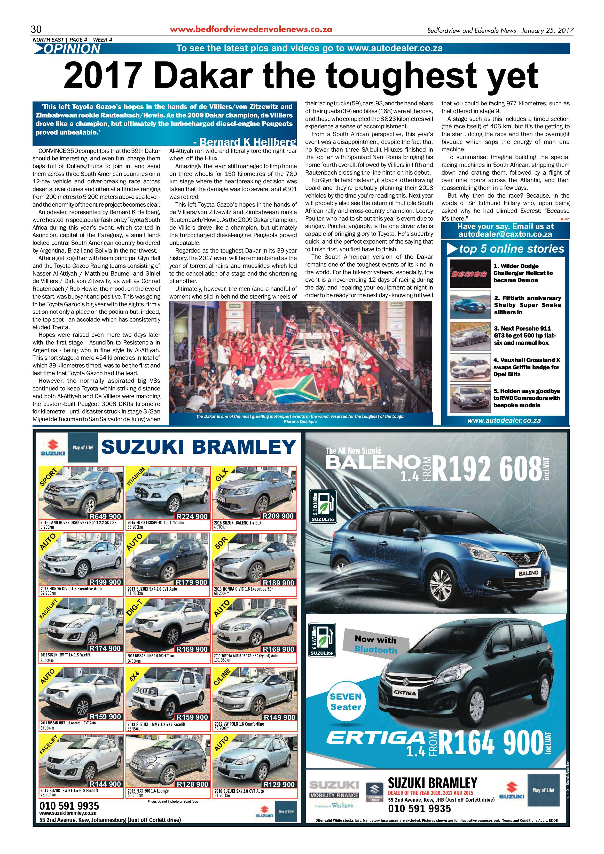 Bedfordview and Edenvale News 25 January 2017 | Bedfordview